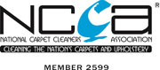 Cleanwise Carpet Care is an associate member of the Nationa carpet cleaners association